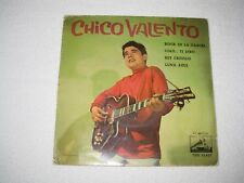 CHICO VALENTO ROCK DE LA CARCEL RARE SPANISH ORIGINAL ISSUE EP 7""