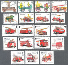 Fire Engines  sets mnh Commonwealth -Great Britain