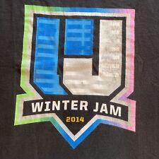 """""""Winter Jam 2008"""" T-Shirt Concert Tour Large"""