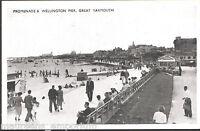 Norfolk Postcard - Promenade & Wellington Pier, Great Yarmouth   B826