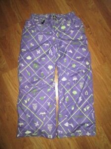 Girls 686 waterproof breathable insulated snowboard ski snow pants M Md Med