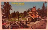 Railroad Depot Train Frontier Village, San Jose, Ca Vtg Defunct Amusement Park