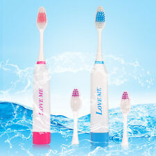 2 Colors Electric Rechargeable Toothbrush Massage Power Brush For Children Adult