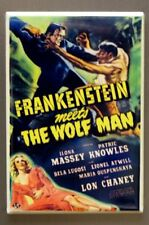 Frankenstein meets The Wolf Man Refrigerator FRIDGE MAGNET Lon Chaney K16