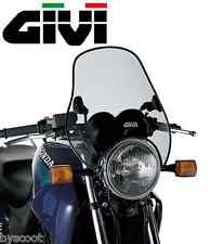 Bolts windshield universal GIVI A603 2 points 37,7 x 44 cm moto smoked screen