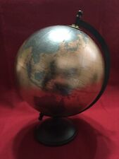 11 inch gold world globe