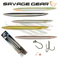 Savage Gear 3D Line Thru Sandeel Sea Fishing Lure Boat Bass Cod Pollock Seatrout