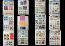 United States Stamp Collection Mix Numbered Blocks Blocks Ex & US Postage Stamps