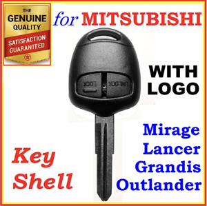 For Mitsubishi Lancer/Outlander/Mirage/Grandis Remote Key Shell Case 2 Buttons
