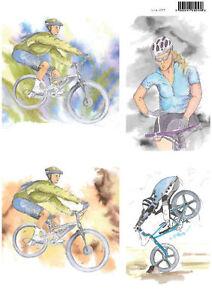 Craft UK Die Cut Toppers Line 2075 - Bike