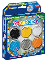 30048 AquaBeads Polygon Beads Refill inc 1150 Beads for Children Kids Age 4 yrs+