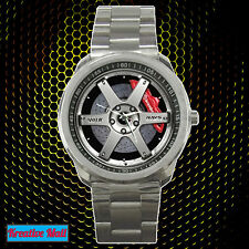 RAYS Volk Racing TE37 SL Sport Rim Unisex Wrist Watches FREE SHIPPING WORLDWIDE