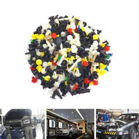 200pc/set Car SUV Various Plastic Rivet Fasteners Push Pin Bumper Fender Panel