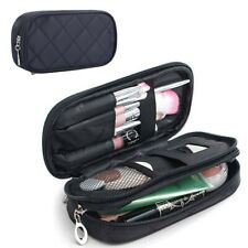 Small Makeup Bag For Purse Mirror Mini Pouch Travel Organizer Cosmetic Case