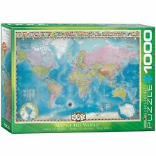 Eurographics  Map of the World Puzzle (1000 Pieces) Jigsaw Puzzle EG60000557