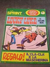 LUCKY LUKE LE COLLINE NERE - ALBI SPRINT anno II n° 2/1971