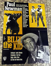 BILLY THE KID * Paul Newman - A1-FILMPOSTER WA Ger 1-Sheet LEFT HANDED GUN R ´64