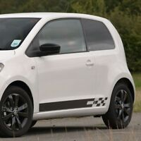 Skoda Citigo Monte Carlo - side stripe decal graphics
