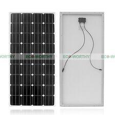 160W Watt Mono Solar Panel Cells Sun Power for 12V RV Boat Battery Charger