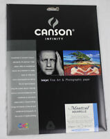 "New Canson Infinity Montval Aquarelle 310gsm 8.5""x11"" Paper - 10 Sheets"