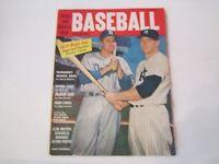 1956 STREET & SMITH'S BASEBALL YEARBOOK - DUKE SNIDER, MICKEY MANTLE - MMMM1