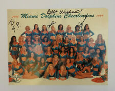 NFL MIAMI DOLPHINS CHEERLEADERS 1998/1999 Autogramme