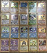 Pokemon Cards WOTC X85 Incl 2 Holo Base Jungle Fossil Team Rocket Bundle Job Lot