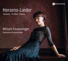 J.S. Bach / Miriam Feuersinger - Herzens-Lieder [New CD]