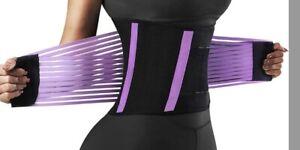 Letsfit Waist Trainer For Men And Woman Size Medium Purple