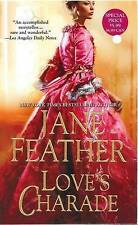 Love's Charade by Jane Feather (Paperback, 2011)