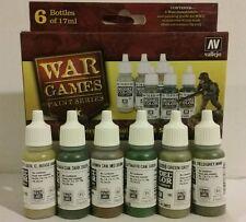 Vallejo acrylic paint 70.154, German Infantry paint set.