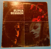 BLOOMFIELD KOOPER STILLS SUPER SESSION LP 1968 RE '70 GREAT CONDITION! VG+/VG!!C