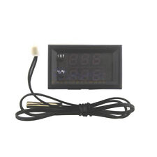 New Digital LED Microcomputer Thermostat Controller Switch Temperature Sensor US