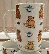 More details for 4 x paul cardew teddy bears picnic 2007 mugs all in excellent condition