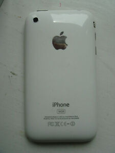 Apple iPhone 3GS 16GB (A1303) with Original Box Information, White Tested Works