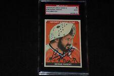 HOF BERNIE PARENT 2010 SPORT KINGS SIGNED AUTOGRAPHED CARD #183 SGC AUTHENTIC
