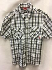 Men's Tog 24 Short Sleeved Casual Checked Shirt Size M