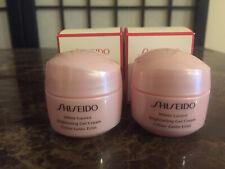 2X Brand New In Box Shiseido White Lucent Brightening Gel Cream Deluxe Sample