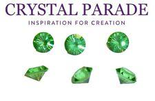 Swarovski Emerald 1100 pointu Crystal Chatons Vintage GF vert taille choix