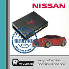 Genuine Authentic Nissan GT-R R35 Metal Emblem Pin Red Carbon Great Gift JDM