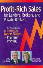 NEW - Profit-Rich Sales for Lenders, Brokers, and Private Bankers