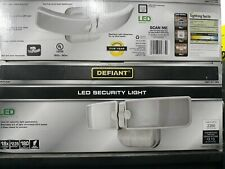 Defiant White Integrated LED Switch Light
