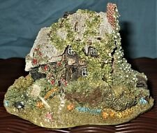 Lilliput Lane * Forget Me Not Cottage * Signed 1992 Collectors Club Special