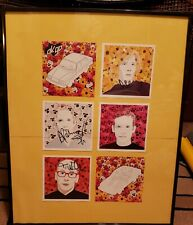 Ok Go Music Artists Band Signed Framed Picture Autographs 16.5in 20.5 in FAN ART