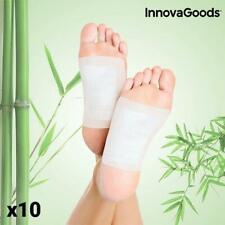 10 x Fusspflaster Detox Pflaster Entgiftung Bambus Entschlackung Fuß Satz