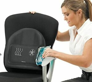 Fellowes 8041901 Heat and Soothe Back Support  ( Gel lumbar pack NOT included  )