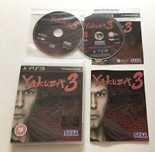 Yakuza 3 III Sony PlayStation 3 PS3 Inc Soundtrack CD Complete Rare PAL Sega