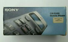 SONY CM-D100 Vintage Collectible Mobile Phone - Black. BNIB