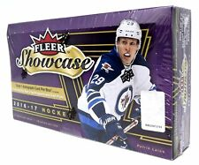 2016-17 Upper Deck Fleer Showcase Factory Sealed Hockey Hobby Box