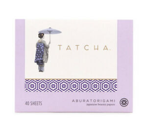 TATCHA ~ Aburatorigami Japanese Beauty Blotting Papers ~ 40 sheets ~ New